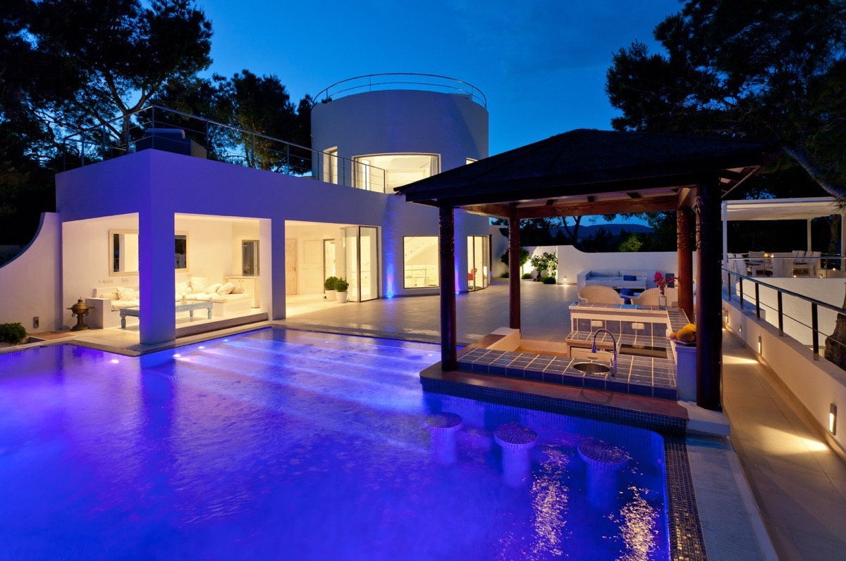 Boutique style sophisticated villa in elevated position Sant Josep de sa Talaia Ibiza