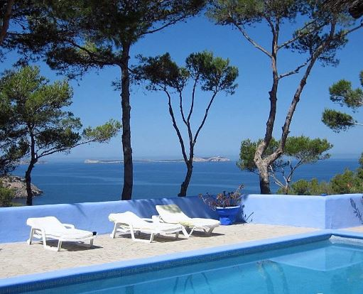 House by the sea for sale Cala Salada Ibiza with amazing views