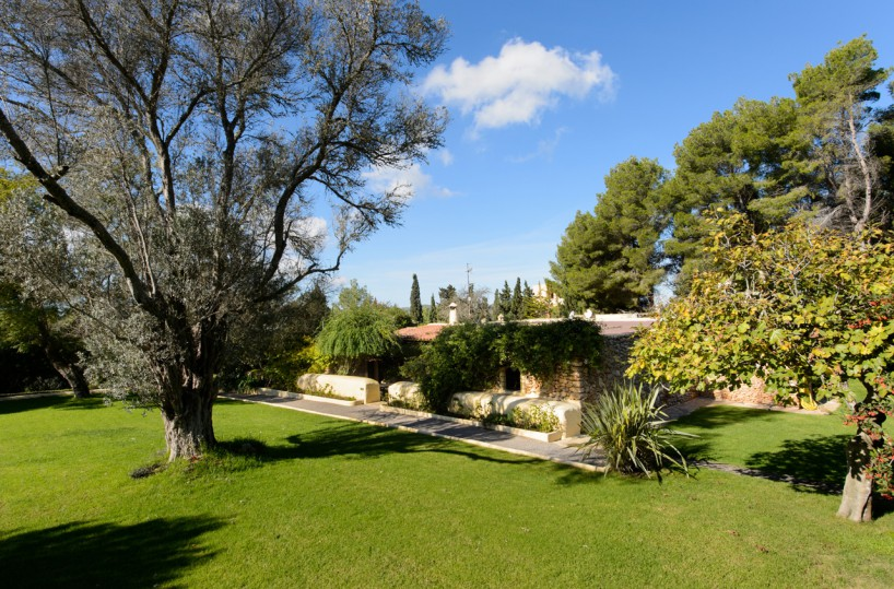 Luxury finca in the San Mateo countryside with private vineyard & pool