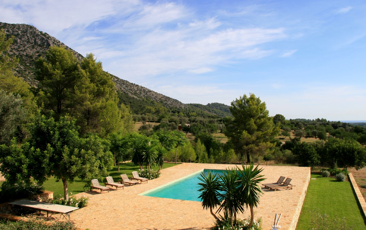 Beautiful Mallorcan Country House For Sale With Views Over