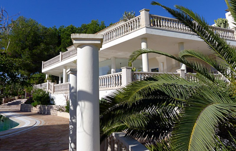 Luxury Ibiza mansion house for sale, sea views, & Guest House  Luxury properties for sale
