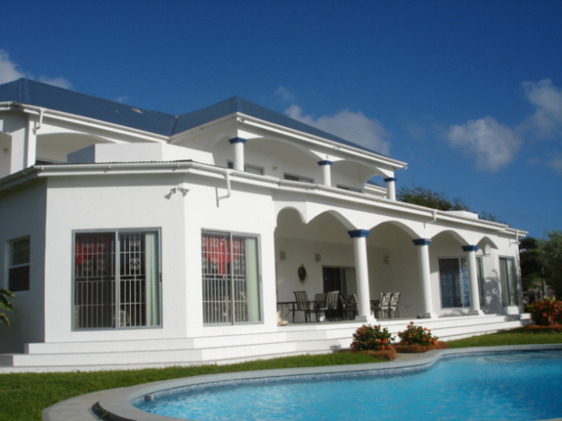 Large frigate bay house for sale in st kitts west indies for Large luxury homes