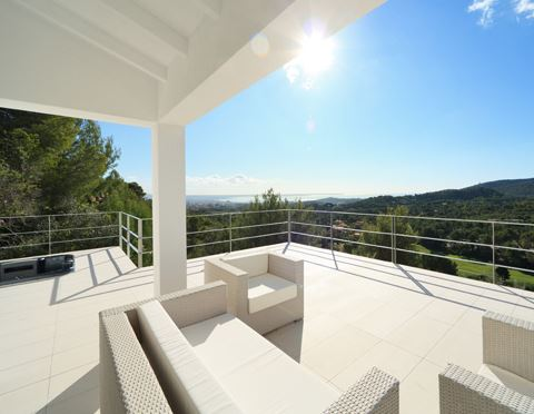 Luxury modern sea view villa for sale Son Vida Mallorca