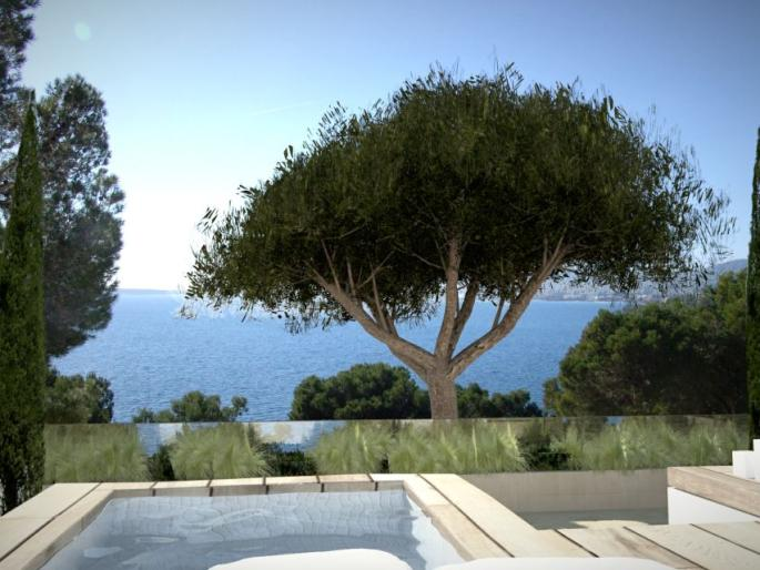 Fantastic new project  with sea views for sale in Costa de los Pinos, Mallorca