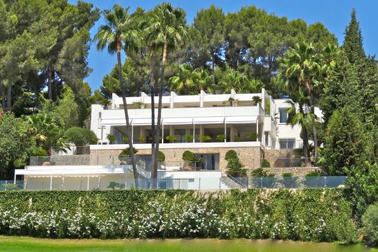 Luxury villa situated on the golf course in Son Vida, Mallorca