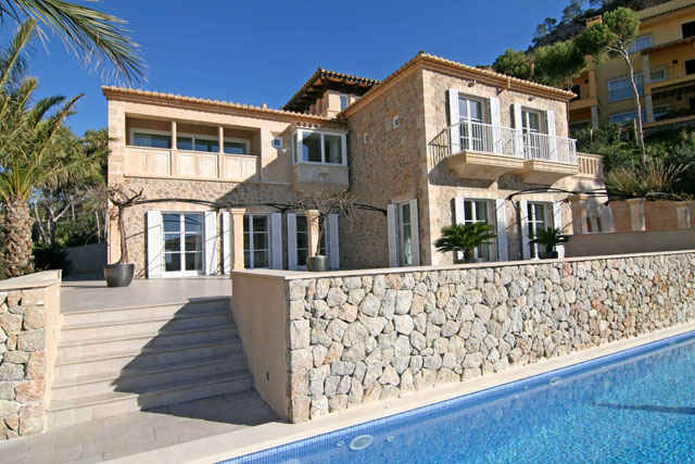 New mansion style villa for sale Puerto Andratx, Mallorca