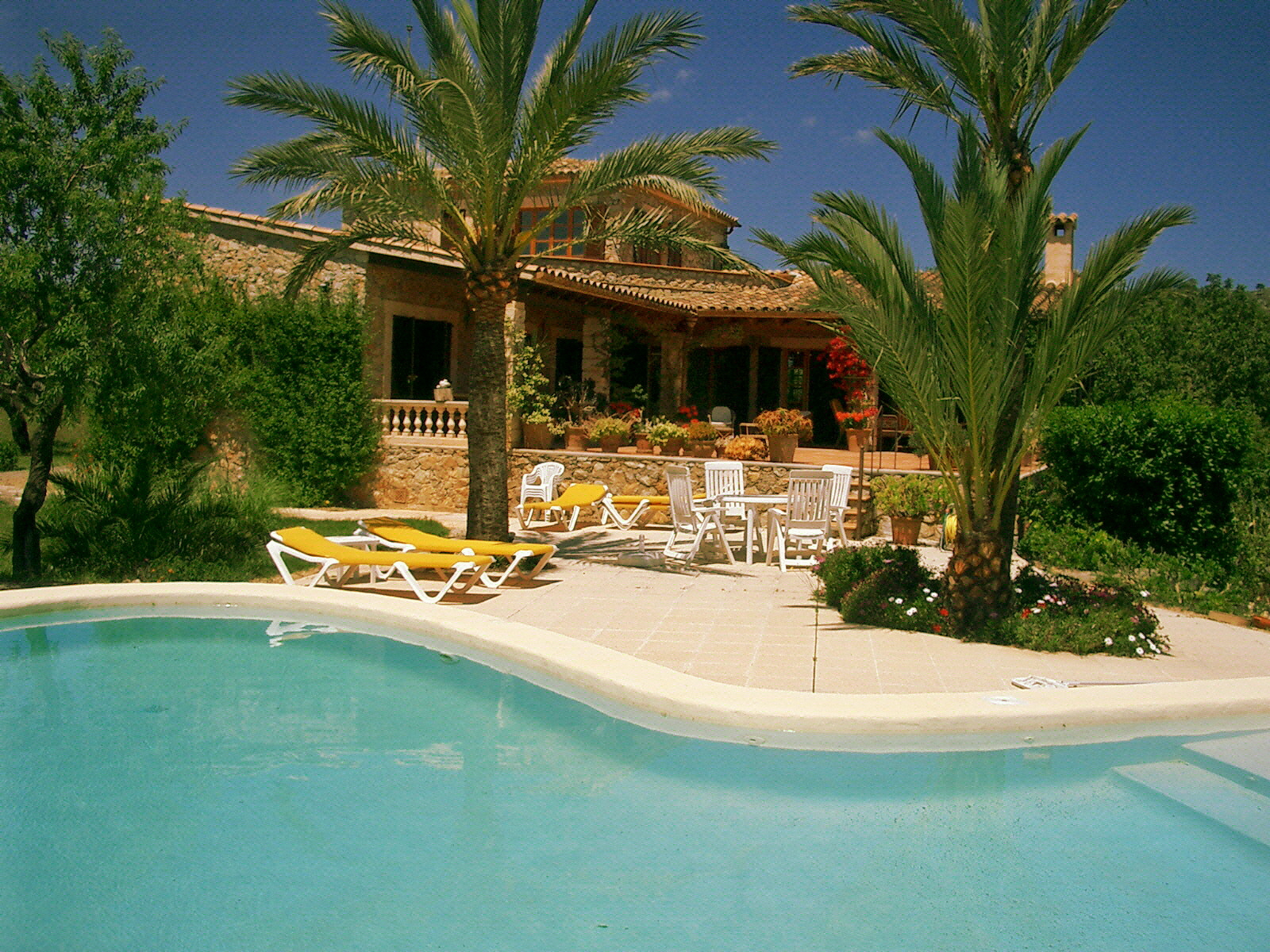 Modern stone built villa for sale, near Arta and Capdepera, Mallorca