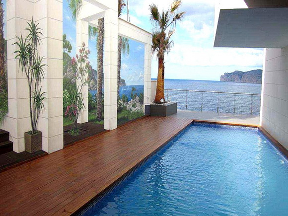 Luxury frontline Villa for sale in Santa Ponsa, Mallorca