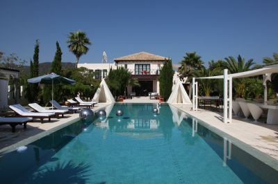 Stylish 4 bedroom villa for sale, close to the Cala Jondal beach in Ibiza