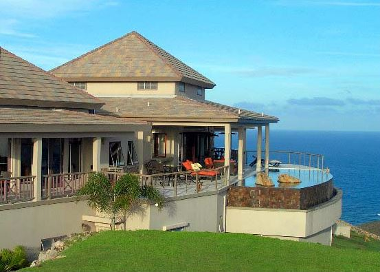 Sundance Ridge. New Luxury real estate for sale on St Kitts, ocean views
