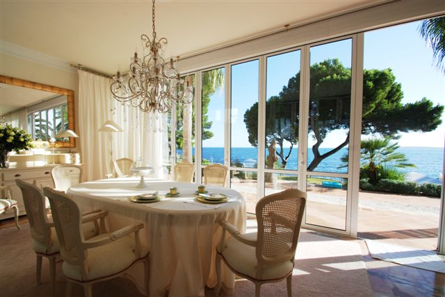 Stunning Sea Views from Dining Area