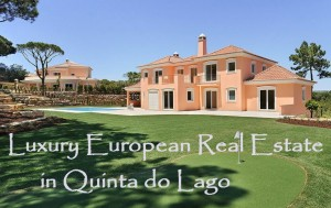Luxury european real estate in quinta do lago algarve for European mansions for sale